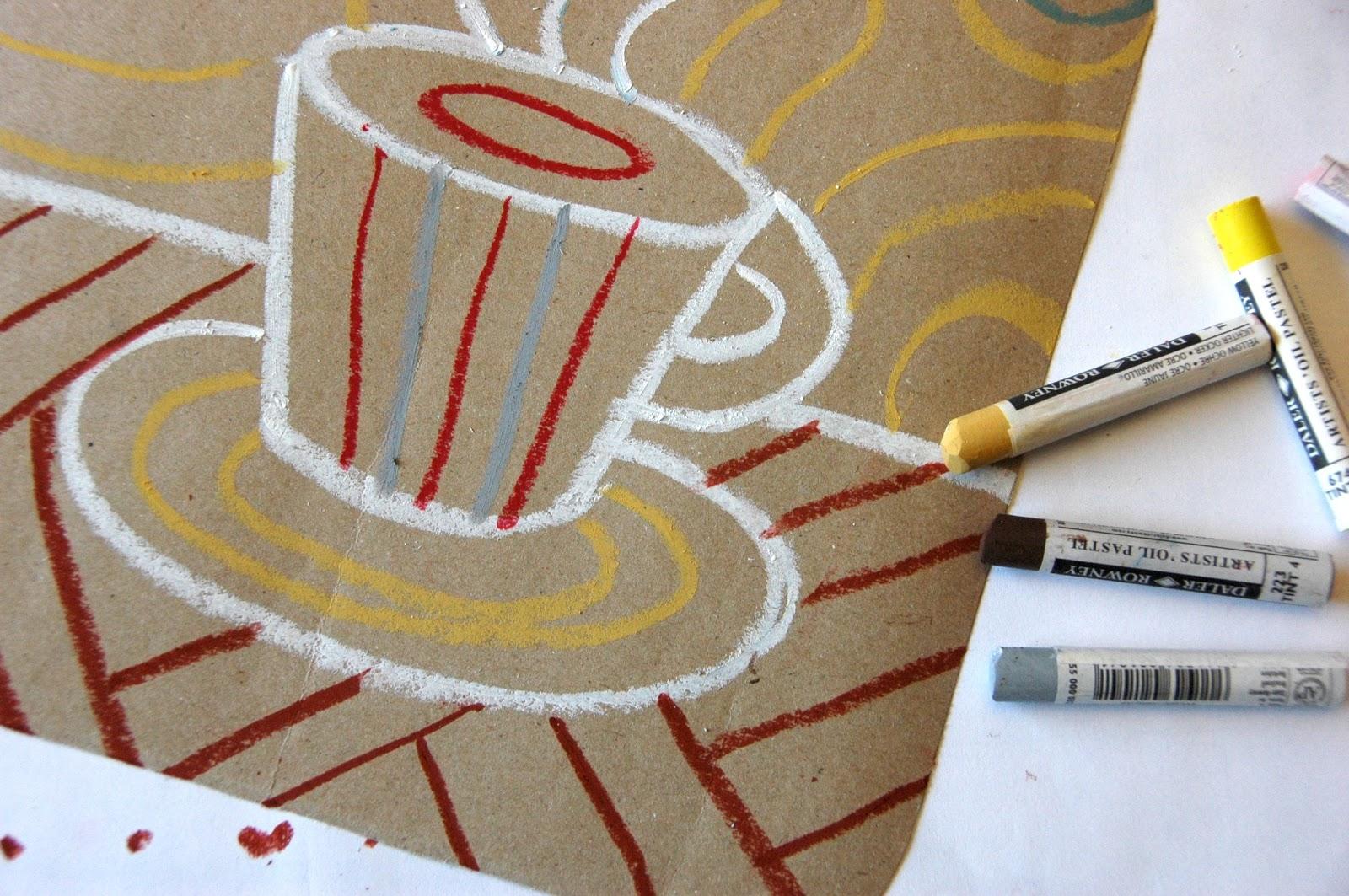 Pausa caffè e acquerello. Quando l'Arte fa bene al Lavoro.