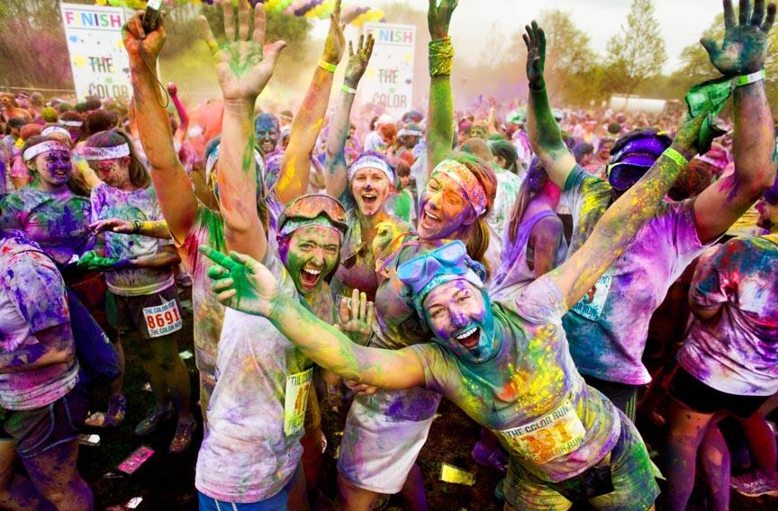 Da Holi a Color Run il colore travolge il Mondo. E Trieste si prepara a correre!
