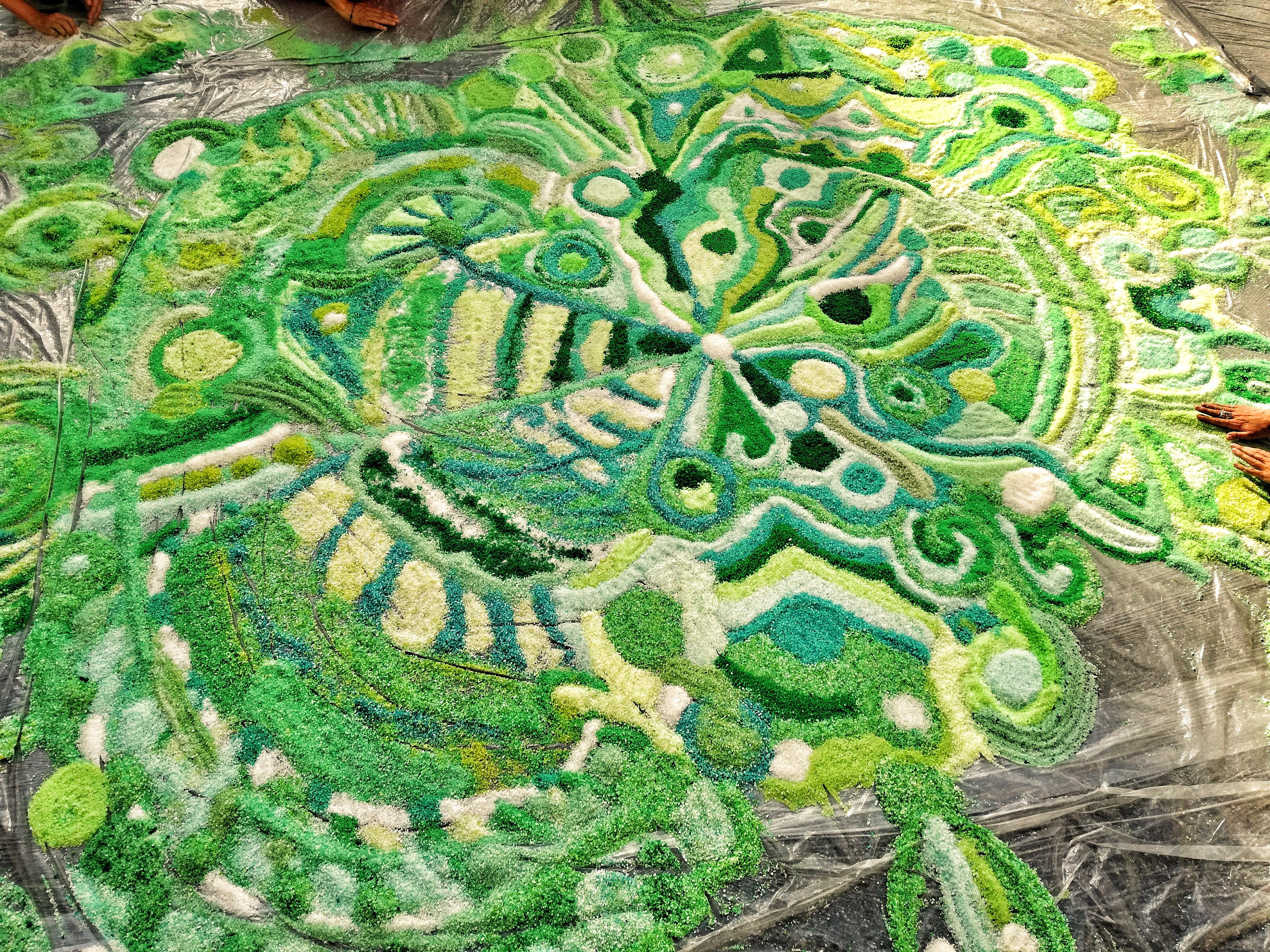 Un cuore di sale verde al centro <br>della campagna LAM Italia Onlus