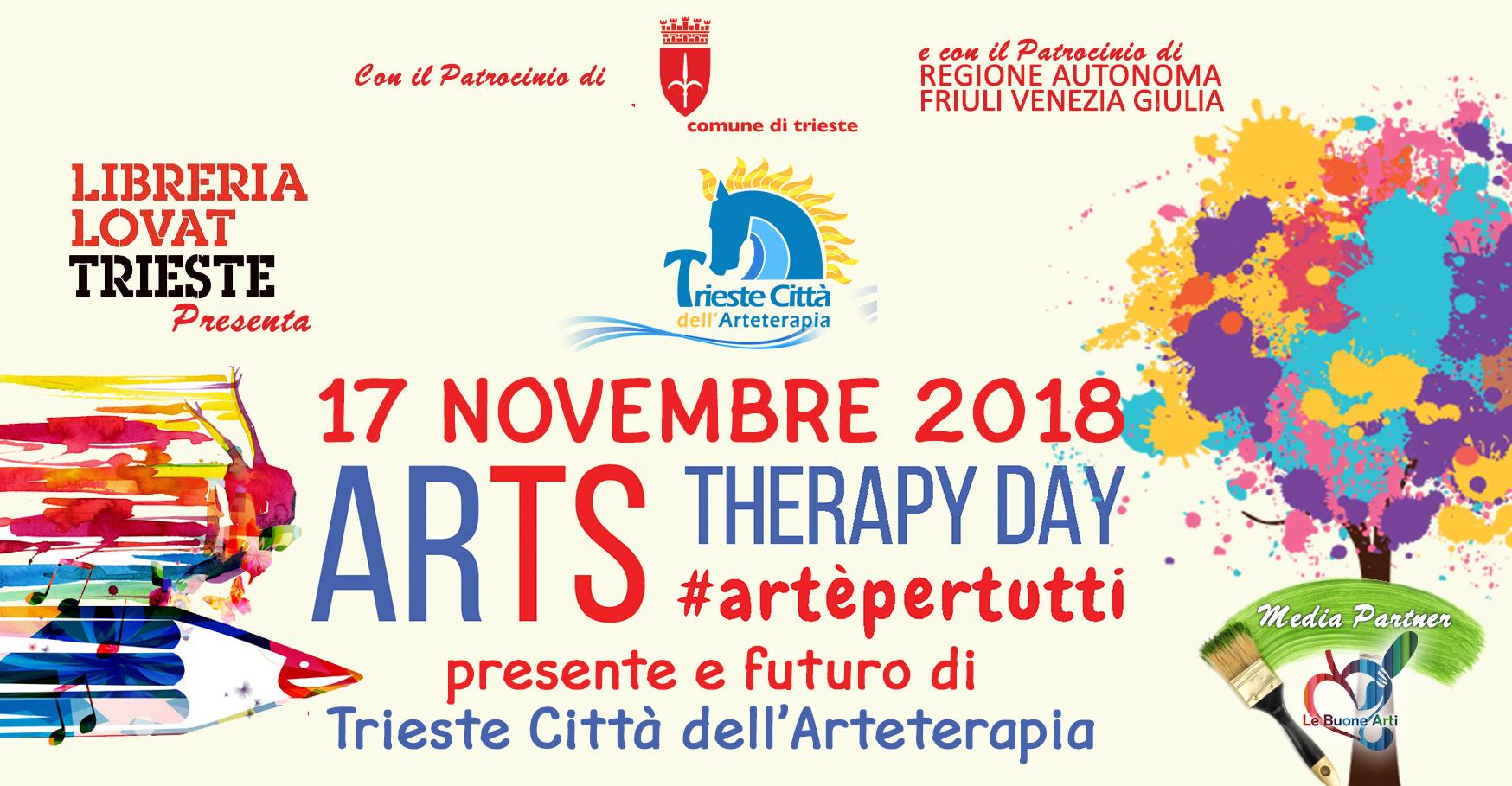 ArTS Therapy Day 2018: ritorna l'Arteterapia alla Lovat Trieste.