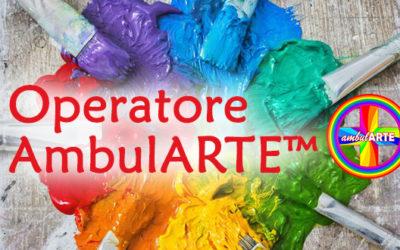 Diventa Operatore AmbulARTE™: <br>corso online + laboratorio frontale